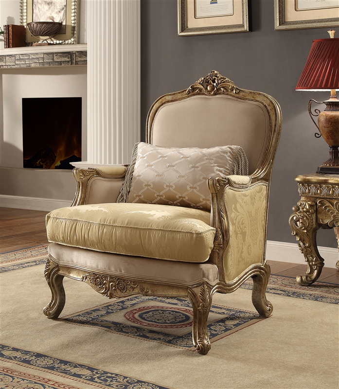 chair photo frame hd memory foam bed uk traditional luxurious upholstery by homey design 2626 c larger