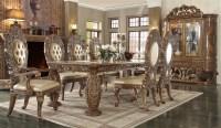 Victorian Dark Brown Dining Room Set by Homey Design - HD ...