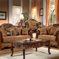2 Piece Living Room Set Accessorize Grey Beauvais By Homey Design Hd 974 Larger Photo