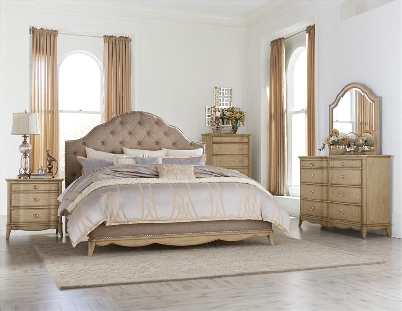 ashden 6 piece bedroom set in driftwood by home elegance hel 1918 1 4