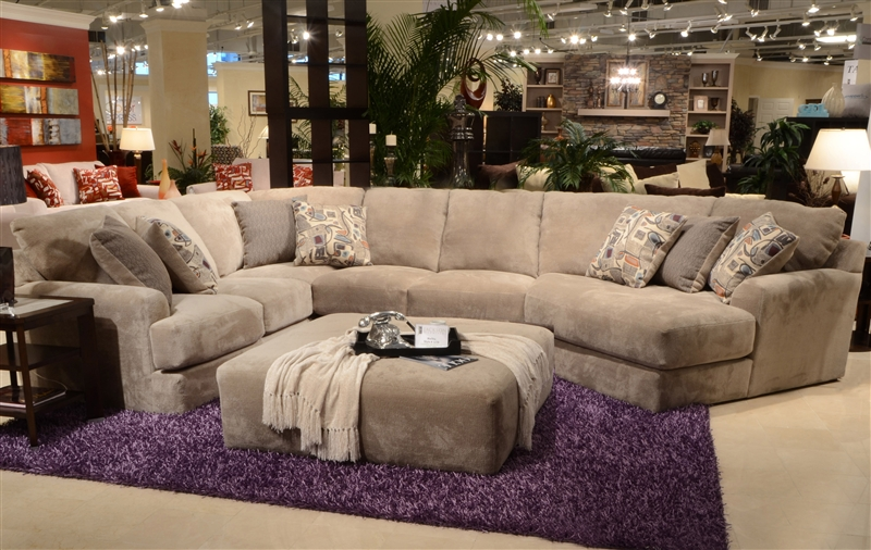 reversible sectional sofa chaise tight back with malibu 3 piece in taupe chenille fabric by ...