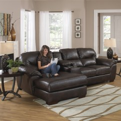 3 Piece Living Room Table Set Sofa With Chaise Lawson Leather Sectional By Jackson - 4243-03