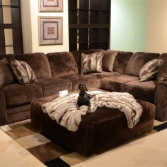 Jackson Furniture Sofa Luke Leather Macy Everest 4 Piece Modular Sectional By - 4377-04-ch