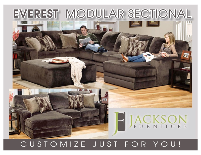 build sectional sofa end table dimensions everest fully modular by jackson your larger photo