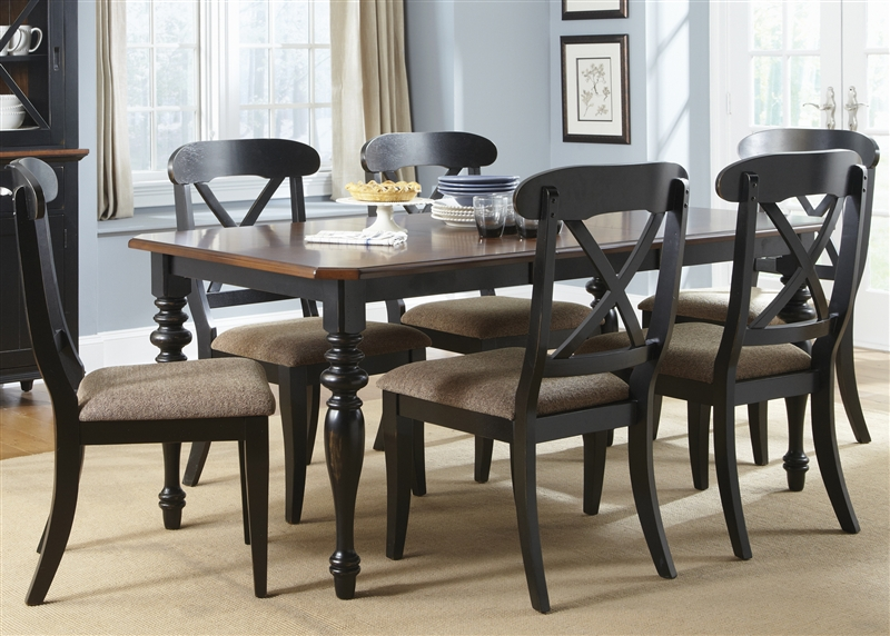 x back chairs chair exercises pictures abbey court 5 piece dining set in black and cherry larger photo
