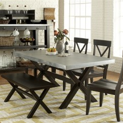 Liberty Dining Chairs Folding Chair Parts Manufacturer Keaton 6 Piece Set In Charcoal Finish By Furniture Lib 219 T3876
