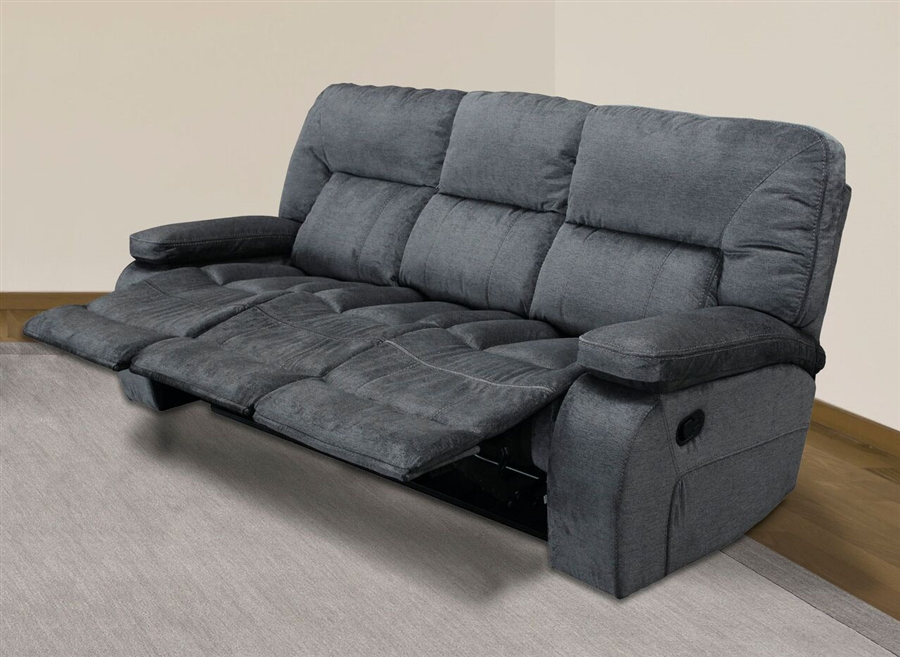 triple reclining sofa recliner set philippines chapman manual in polo fabric by parker house larger photo