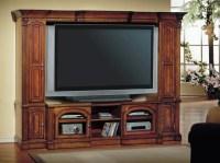 Premier Turino 48-65-Inch TV 4 Piece Wall Unit in Warm ...