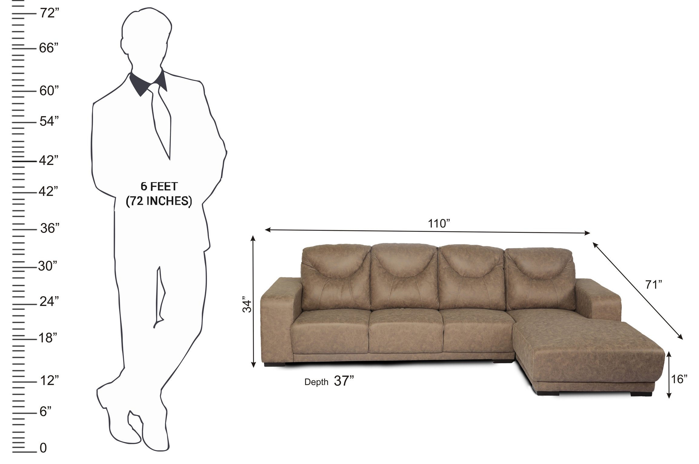 standard sofa sizes in mm large back cushion covers l seater size baci living room