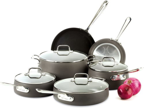 All-clad nonstick cookware for induction