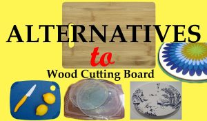 alternatives to wood cutting boards