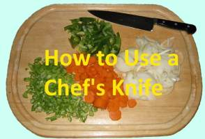 How to Use a Chef's knife properly