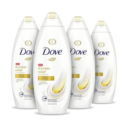 dove body wash for dry skin relief
