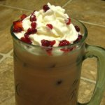 Raspberry Malt Iced Coffee Recipe-Summertime Pick me Up!