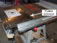 Bench Dog ProMax Cast Iron Router Table Extension Product ...