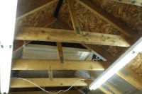 Insulating Cathedral Ceiling with Foam Board - Home ...