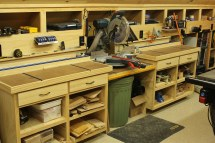 Woodshop Miter Saw Bench
