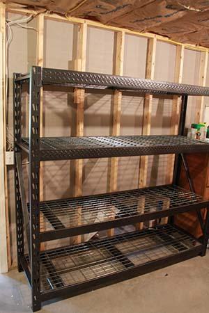 gladiator heavy duty storage shelving