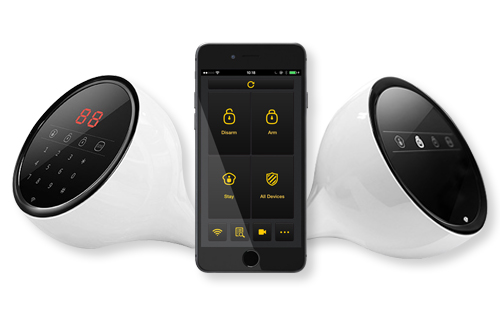 Galaxy Mobile 500 Smart Phone Controlled Car Security Alarm Remote