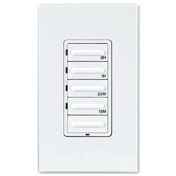 Leviton 001 Vpt24 1pz White Decora 24 Hour Programmable Timer