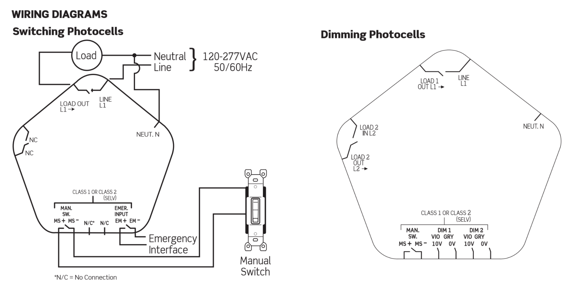 hight resolution of contents provolt line voltage photocell