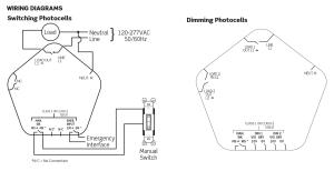 Leviton Provolt Line Voltage Photocell, Ceiling Mount