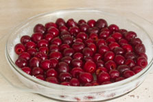 Paso 4 clafoutis de cereza