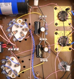 preamplifier with 56 triodes and line output transformer picture 2  [ 1200 x 900 Pixel ]