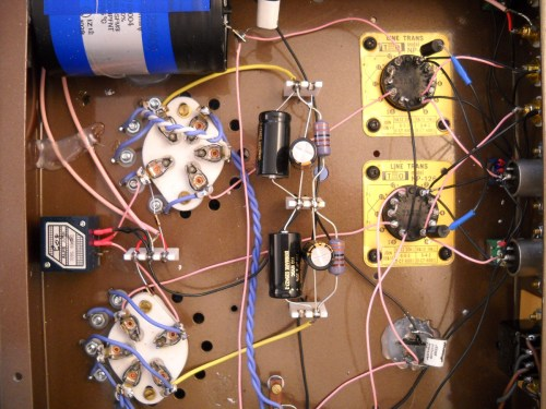 small resolution of  preamplifier with 56 triodes and line output transformer picture 2
