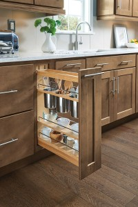 Base Pantry Pullout Cabinet - Homecrest Cabinetry