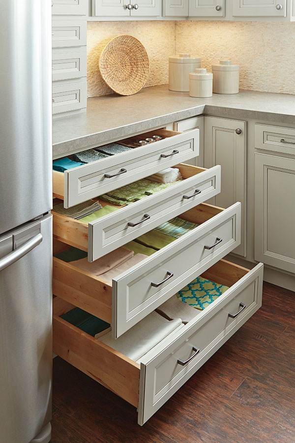 Four Drawer Base Cabinet  Homecrest Cabinetry