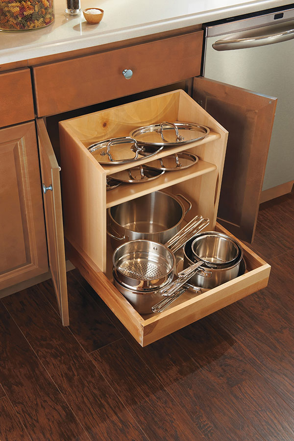 Base Pan Storage Cabinet  Homecrest Cabinetry