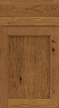 Chestnut Cabinet Finish on Rustic Hickory  Homecrest