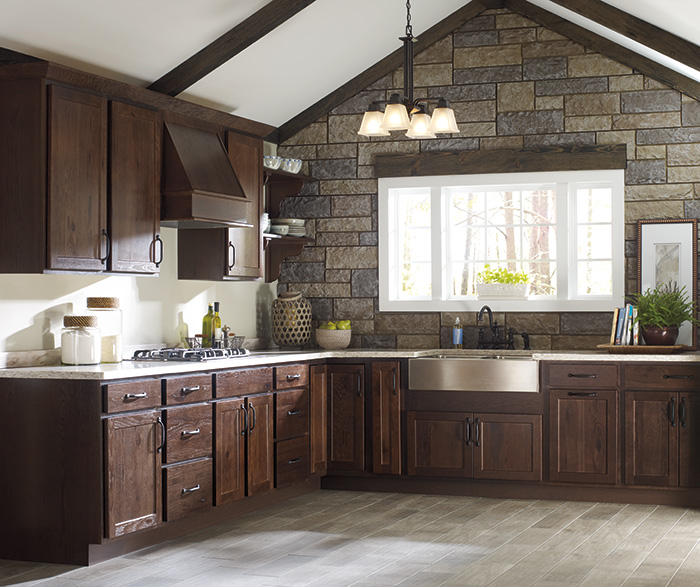 rustic kitchen cabinet glossy cabinets homecrest cabinetry by