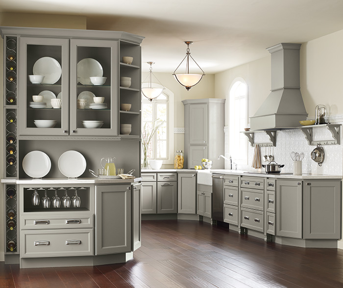Kitchen Cabinetry Color  Finish Photos  Homecrest