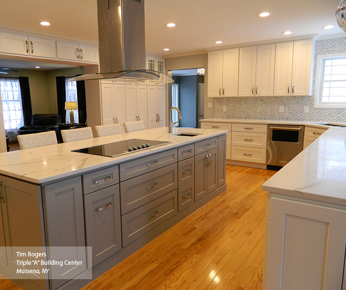 Painted Shaker Style Cabinets Homecrest Cabinetry