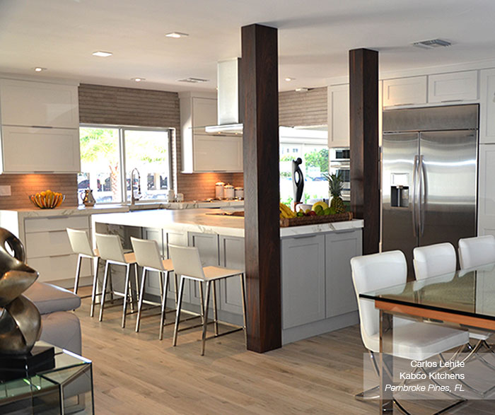 colored kitchen islands ninja mega system bl771 white cabinets with a gray island homecrest in the dover door style
