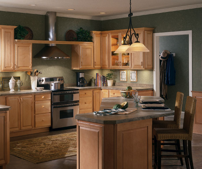 Natural Maple Kitchen Cabinets Photos  online information