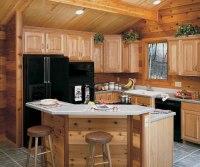 Natural Cabinet Finish on Hickory  Homecrest
