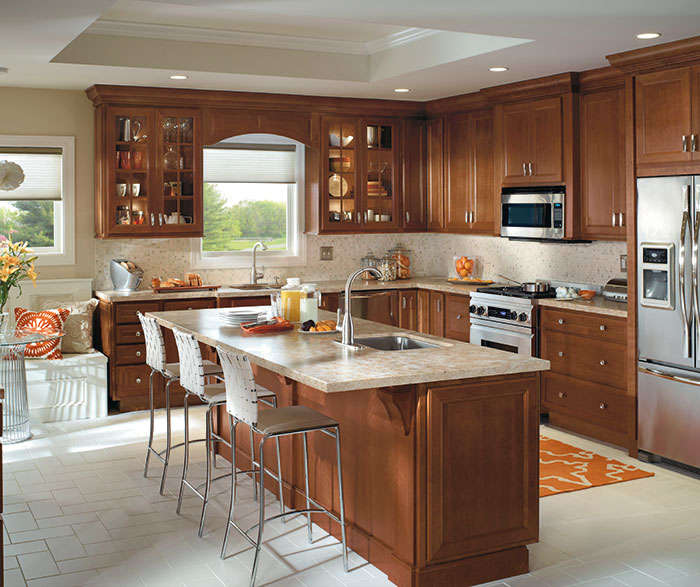 kitchen cabinets.com island work station cabinet style gallery homecrest cabinets traditional with cherry by cabinetry