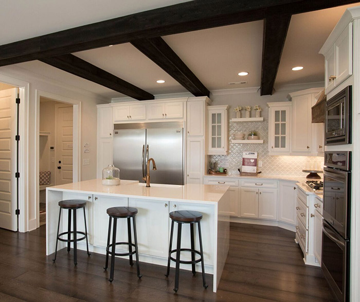 White Kitchen Cabinets  Homecrest Cabinetry