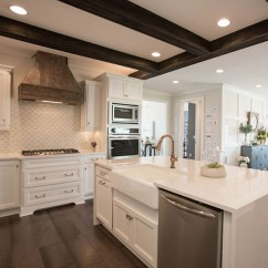 Types Of Kitchen Cabinets Canister Alpine White Maple - Homecrest Cabinetry