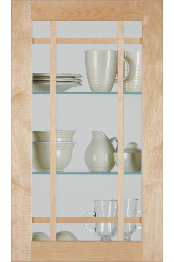 replacement kitchen cabinets distressed for sale shaker mullion door with antique glass - homecrest