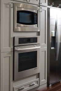 Wall BuiltIn Microwave Cabinet  Homecrest