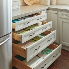 Kitchen Cabinet Design Tool Amazon Appliances Four Drawer Base - Homecrest Cabinetry