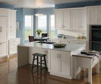 Alpine White Cabinets  Homecrest Cabinetry