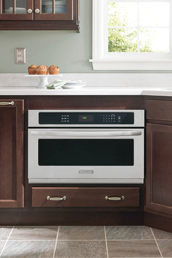 Microwave Cabinet  Homecrest Cabinetry