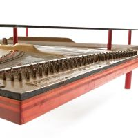 Piano Coffee Table crafted from real Knabe Piano ...
