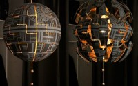 You can also make this cool Star Wars Death Star Lamp ...