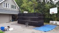 Man transforms shipping container into an underground ...